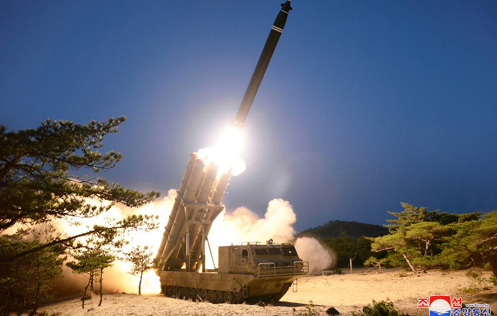 Media: DPRK announced a test of a multi-charger launcher