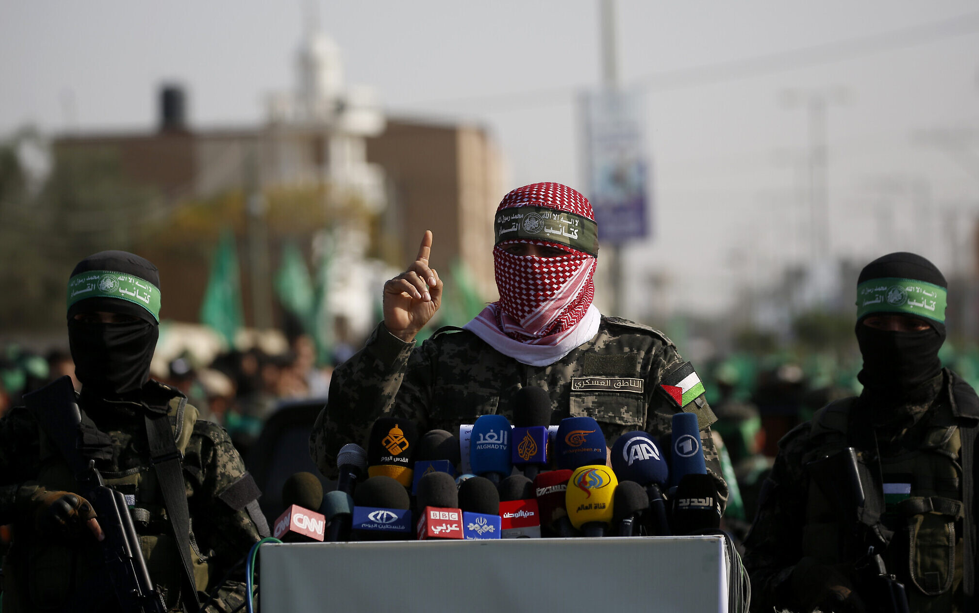 Hamas spokesman thanks Russia for supporting Palestinians