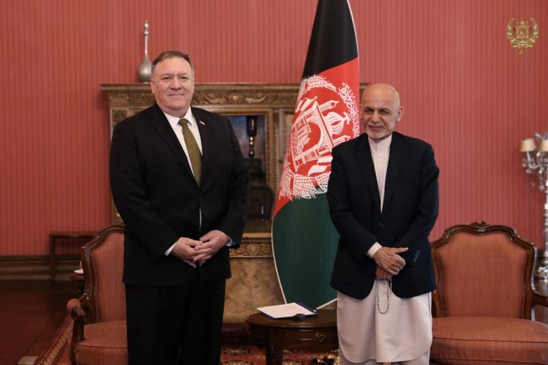 Pompeo announces a reduction in US aid to Afghanistan