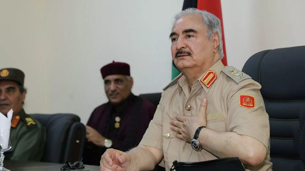 Haftar paid an official visit to Paris