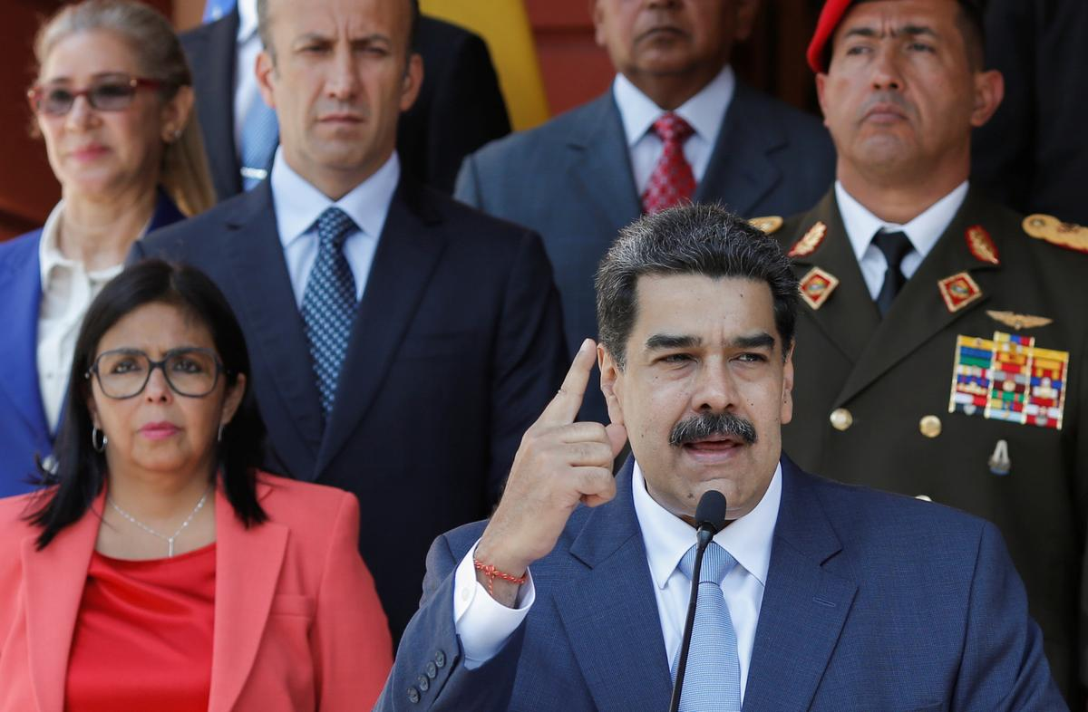U.S. proposes transitional government for Venezuela, without Maduro or Guaidó
