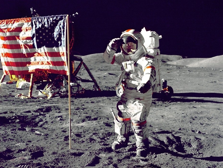 Through Trump's efforts, the U.S. can legitimately occupy the moon