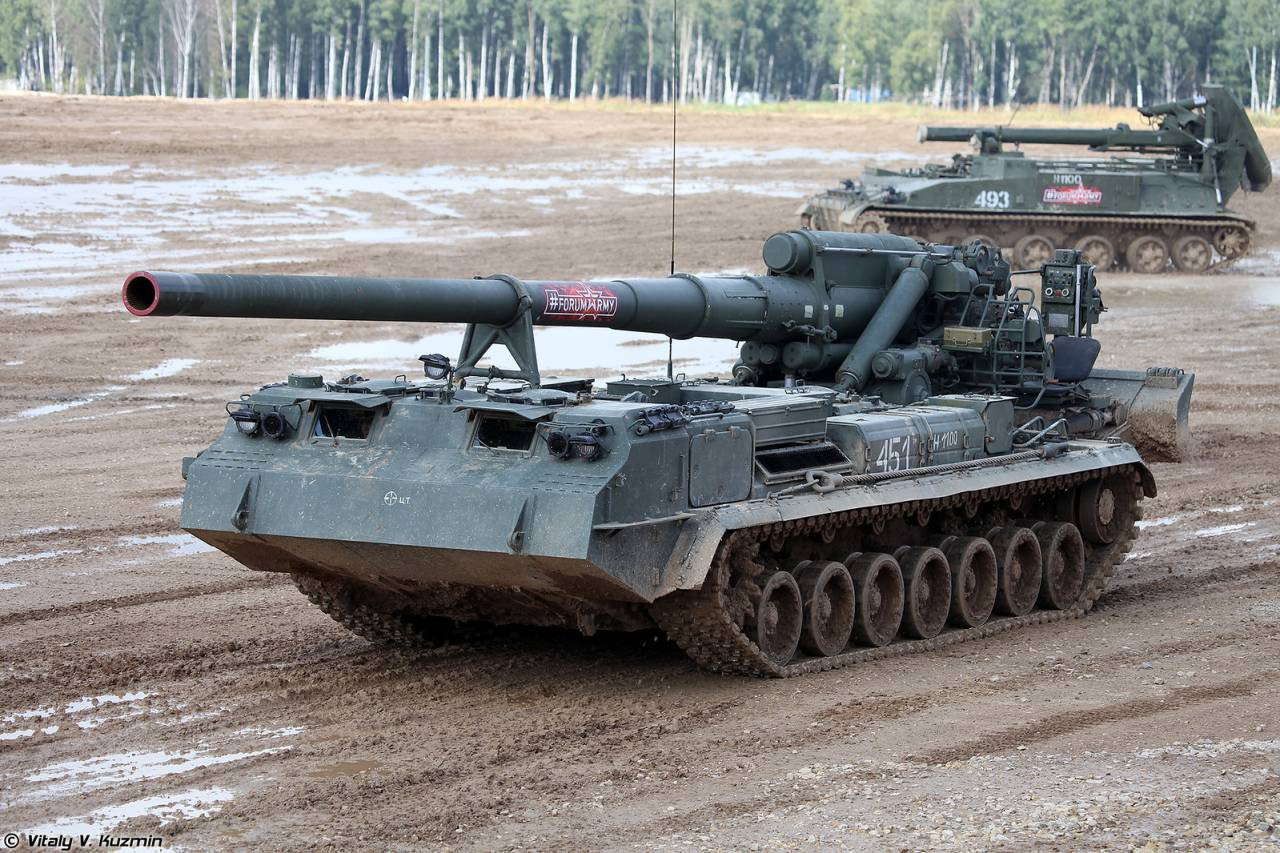 One of most powerful guns in the world is updated in Russia