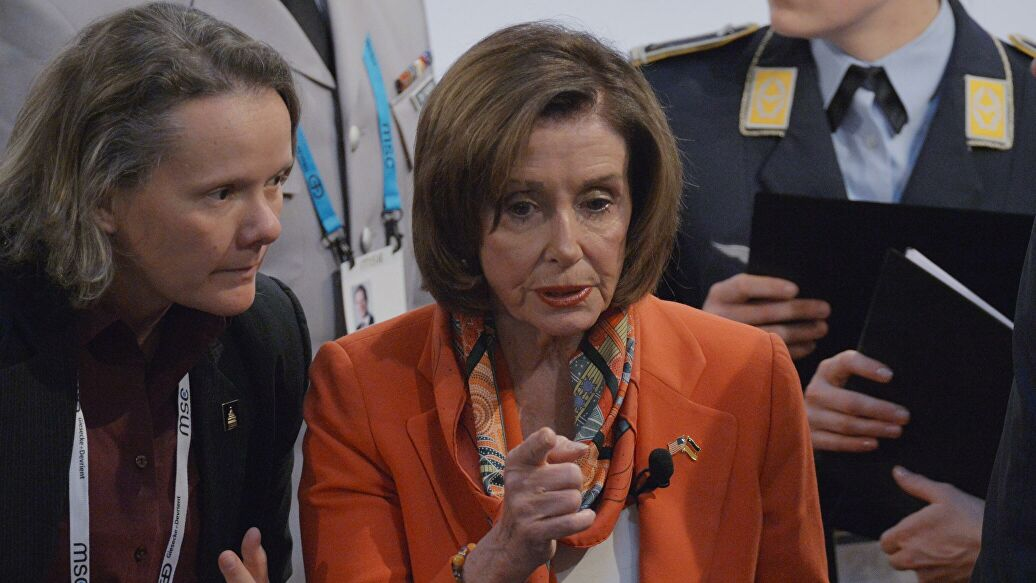 Pelosi promised to challenge Trump's decision to suspend WHO funding