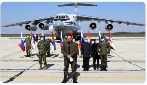 All 11 Il-76 aircraft of the Russian Aerospace Forces with military epidemiologists arrived in Serbia