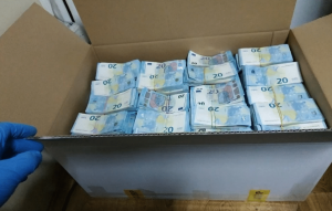 "Moldovan customs stopped the smuggling of ""revolutionary"" currency across the border"