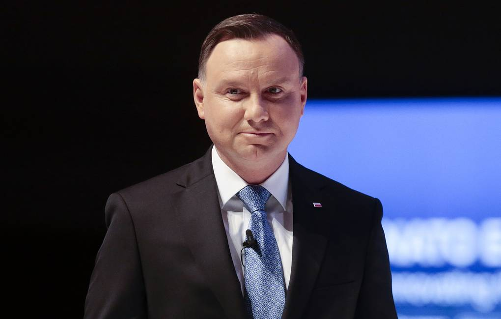 The President of Poland supported the idea of holding elections by mail