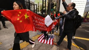 Beijing calls on US not to go against international community