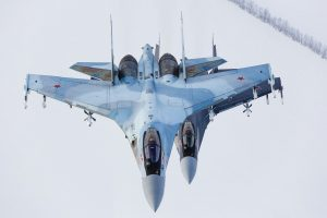 "US expressed ""discontent"" to Russia over incident with Su-35"