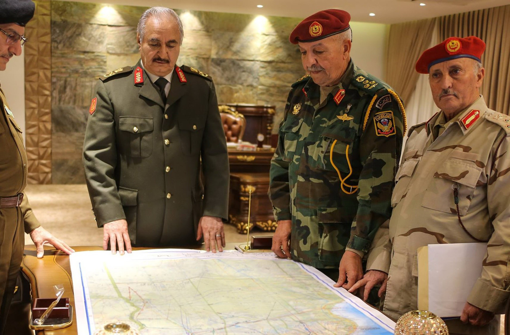 Haftar aims to put an end to Turkish intervention in Libya - there are already first successes