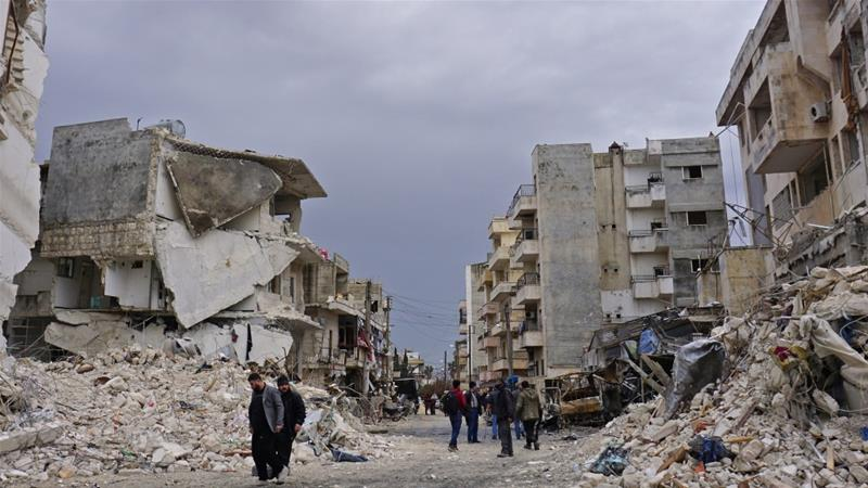 UN Secretary General called for a ceasefire in Syria