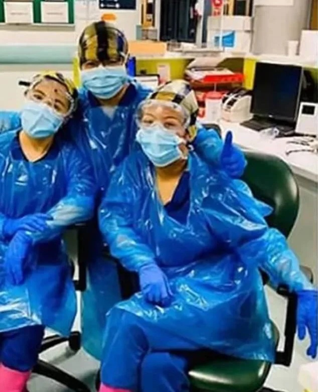 British medics use garbage bags instead of protective equipment - the effect was disappointing
