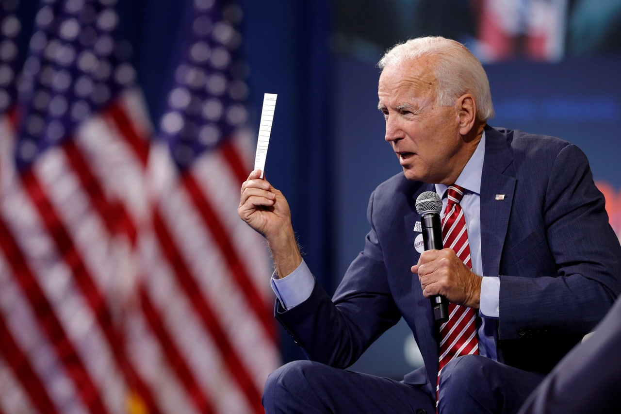 In the midst of an economic crisis, Biden is trying to shake money out of the sponsors