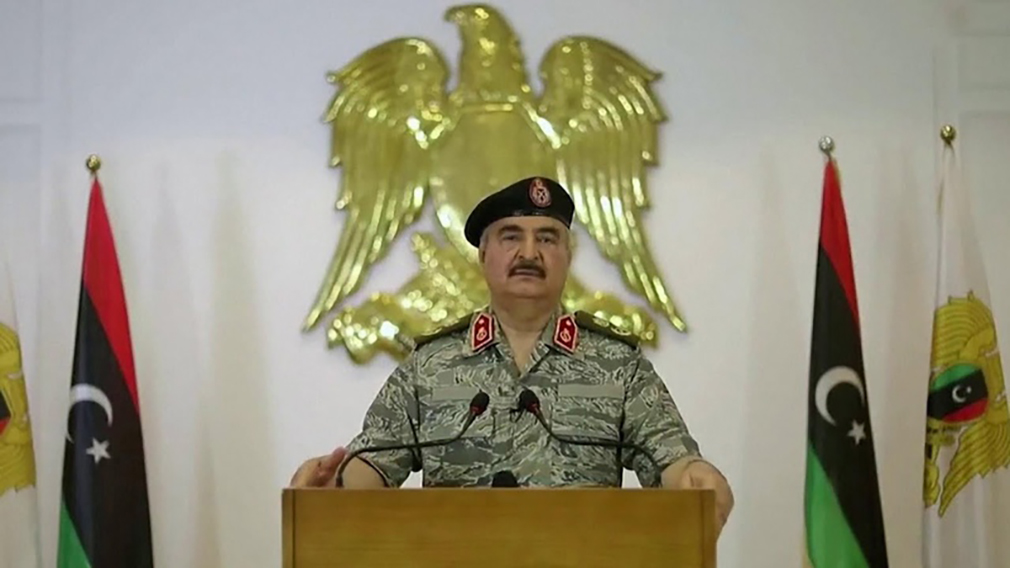 Field Marshal Haftar's troops destroy drone control center