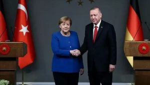 Erdogan and Merkel discuss the fight against the Covid-19 pandemic