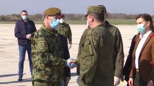 Russian military will train Serbian doctors in treating patients with coronavirus