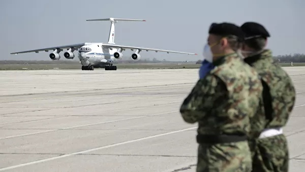 In Serbia a second board with Russian help to fight against COVID-19 has landed