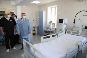 In the Ukrainian regions quietly equip VIP-wards for patients with coronavirus