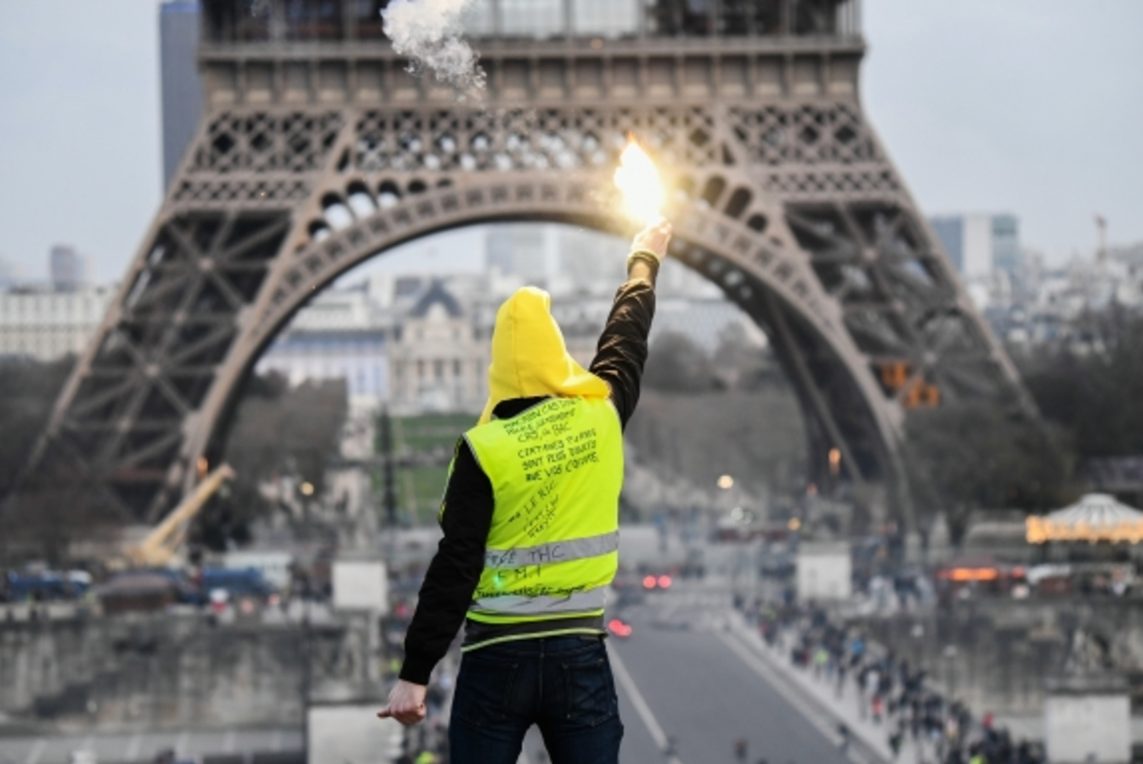 "Pandemic makes you learn a lesson - yesterday's ""yellow vests"" save France from collapse"