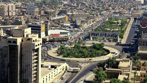 Baghdad's Green Zone was rocket fired