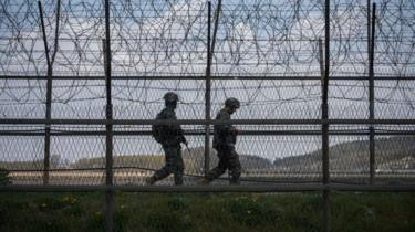 North and South Korea exchange gunfire at border