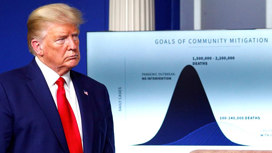 Economic recovery will cost Trump tens of thousands of American lives