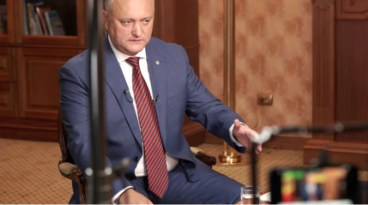 Dodon is ready to go for a second term