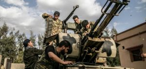 PNS militants attacked Haftar army positions