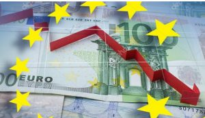 The EU recorded the largest decline in economic growth