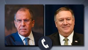 Pompeo discussed arms control with Lavrov