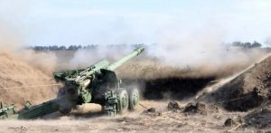 Punishers covered with shelling Gorlovka: there is destruction
