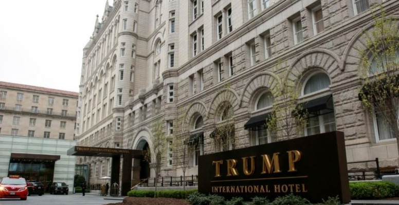 Trump tried to get the court to end the corruption process because of his hotel