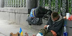 Ukrainians complain about life after the Maidan