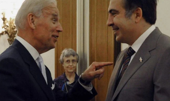 Saakashvili boasted that Biden was appointed US vice president not without his participation