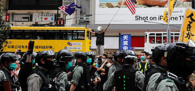 Arson, clashes and arrests: Situation in Hong Kong is heating up