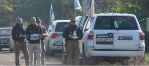 Ukrainian punishers tried to kill OSCE staff