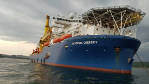 """Able to complete the """"Nord Stream - 2"""" vessel approached the Kaliningrad region"""
