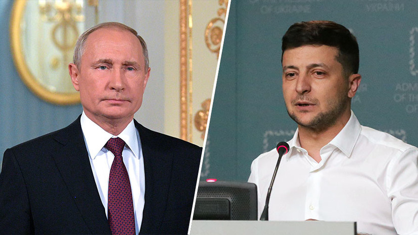 Zelensky is sure of the need for direct negotiations with Putin