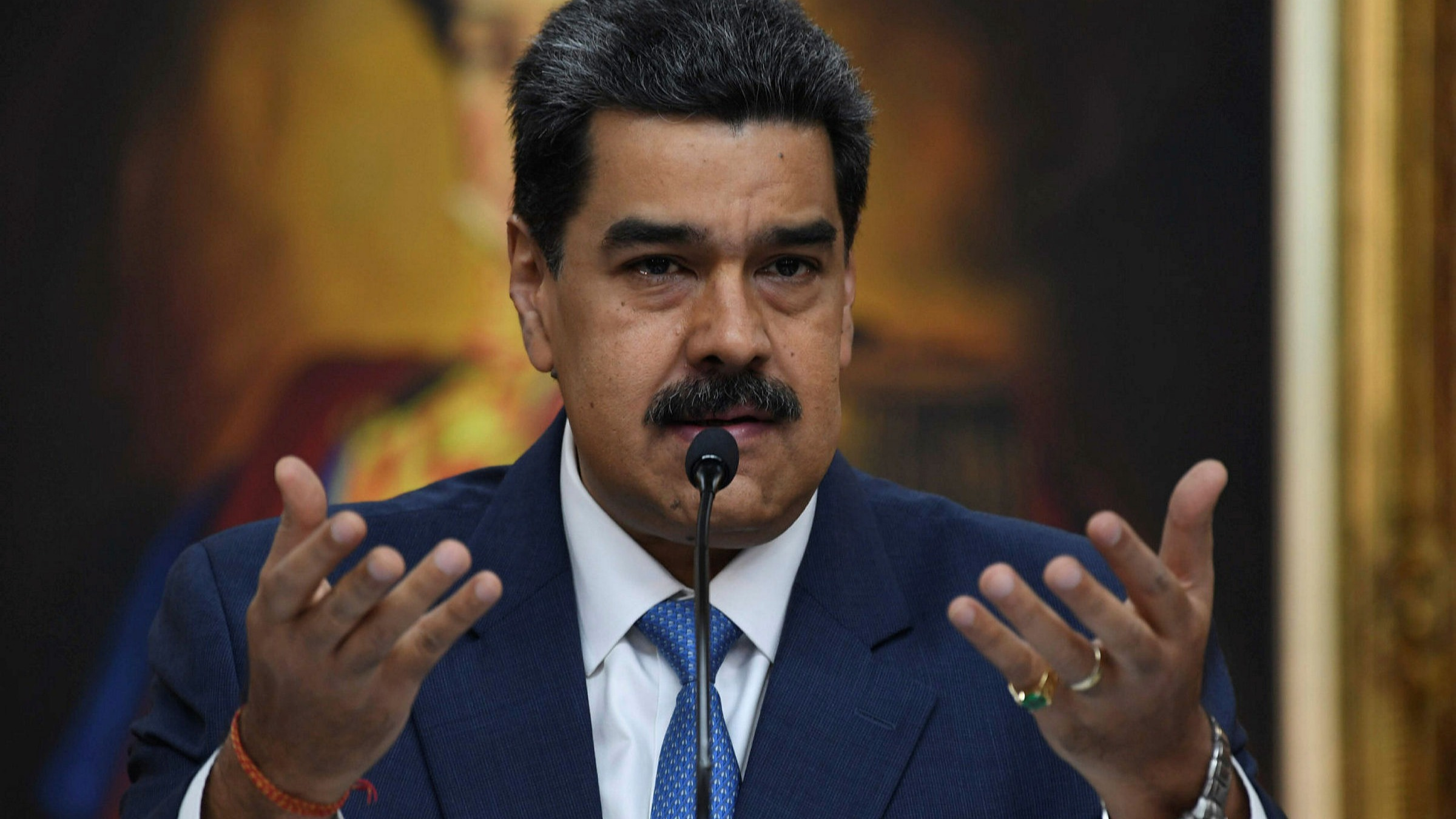 The Venezuelan President has announced a new phase of military exercises