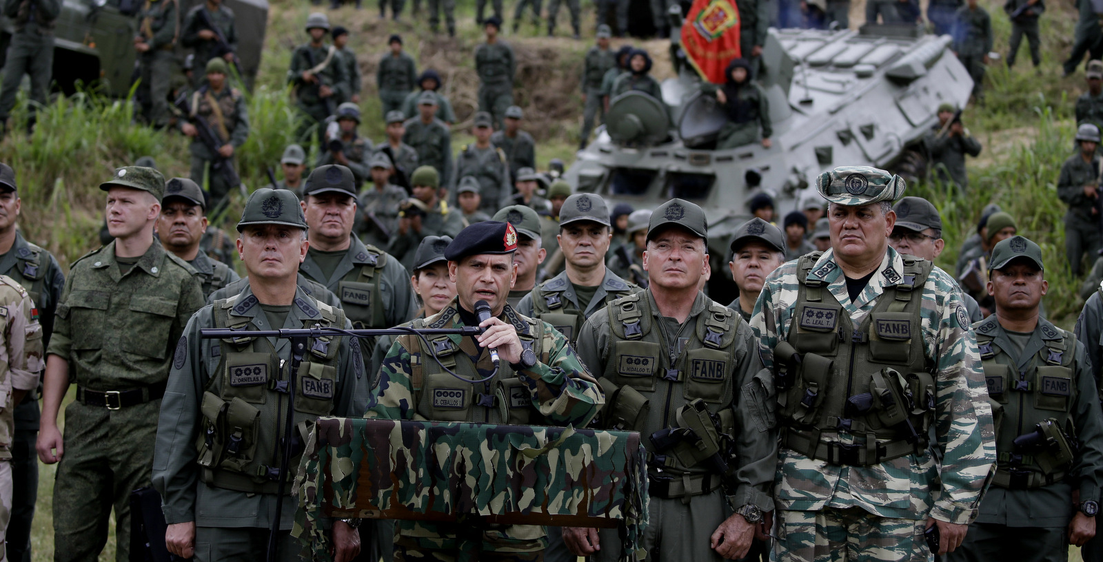 Venezuelan military suppresses and thwarts attempted illegal entry from Colombia