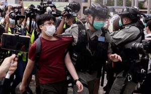 China puts forward national security law to curb Hong Kong protests