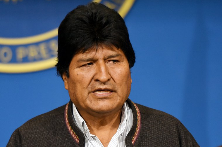 Morales described measures used in Bolivia because of COVID-19 as repressive