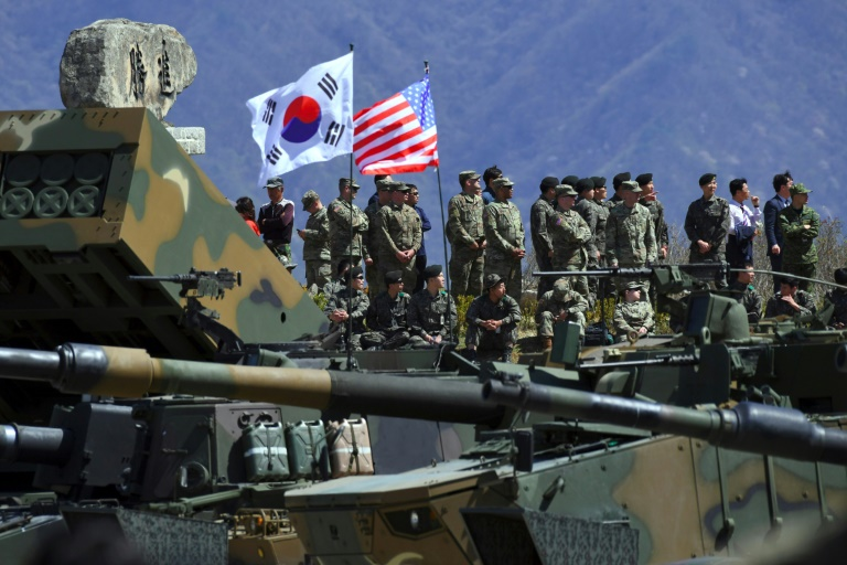 """The DPRK called the South Korean military exercise """"a mad provocation"""""""