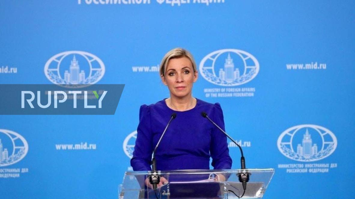 Zakharova called batch of ventilators from the USA a sincere gesture