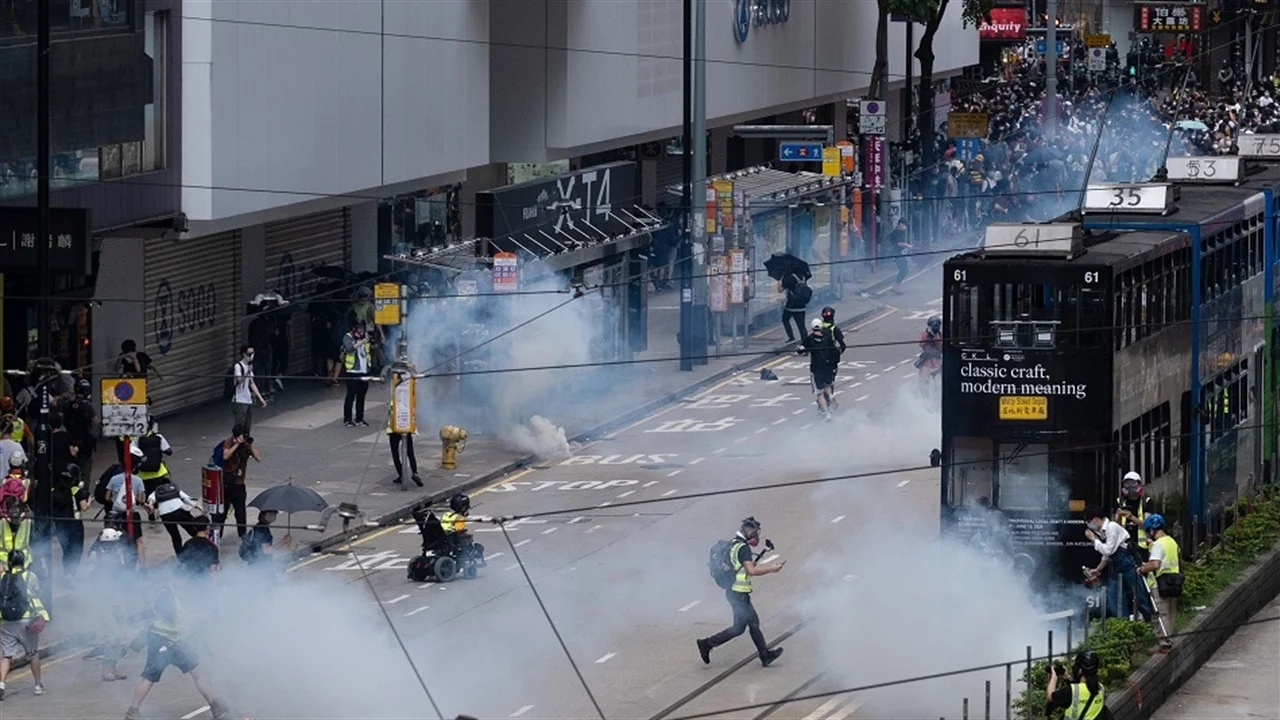 Riots in Hong Kong: police recorded 14 cases of use of explosives