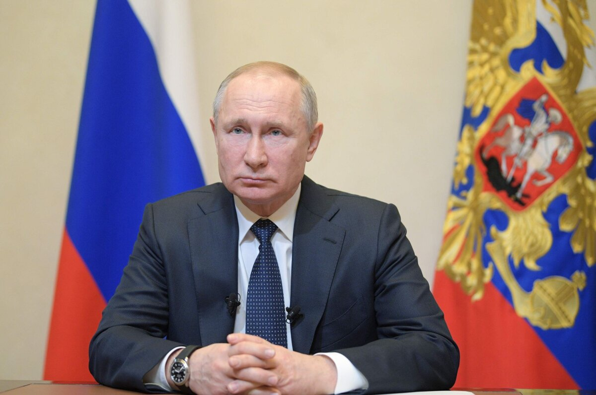 Putin says the West is involved in information attacks in the context of World War II