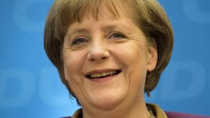 Merkel takes an example from China