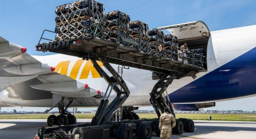 Javelin shipped in the US for delivery to Ukraine
