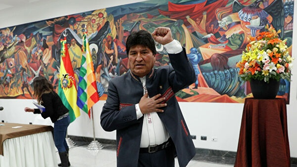 Bolivian government demands resumption of processes against Morales