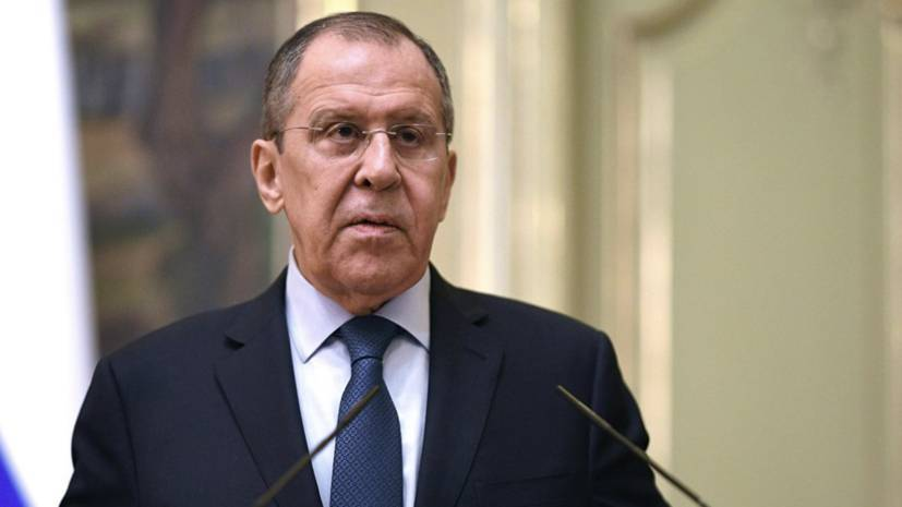 Lavrov comments on statements of Kiev on the Minsk agreements